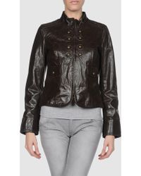 Miss Sixty | Leather Outerwear | Lyst