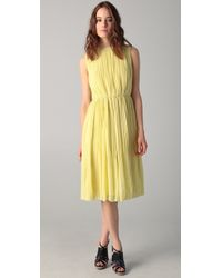 Raoul Icon Chiffon Dress - Lyst