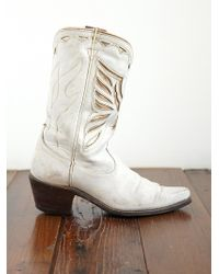 Free People Vintage Angel Wing Cowboy Boots - Lyst