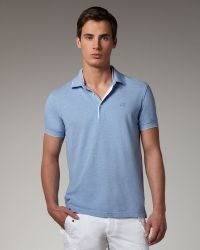 Zegna Sport - Tipped Pique Polo - Lyst