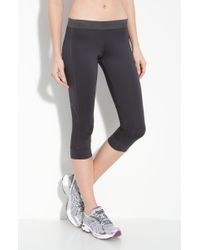 Adidas By Stella Mccartney Run Capri Tights - Lyst