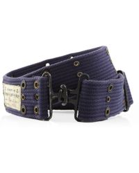 Denim & Supply Ralph Lauren - Interlock Ribbed Belt - Lyst