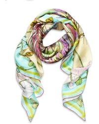 Matthew Williamson Butterfly Print Scarf - Lyst