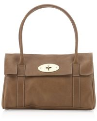 Mulberry Oak East West Bayswater Bag - Lyst