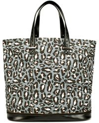 Zara Canvas Shopper - Lyst