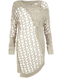 AllSaints Summer Court Jumper Dress - Lyst