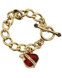 Juicy Couture | Heart Starter Bracelet | Lyst