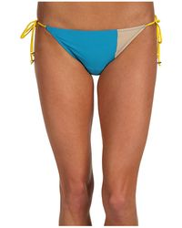 Marc By Marc Jacobs Simon Colorblock String Bottom - Lyst