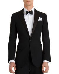 Ralph Lauren Black Label Silk Lapel Tuxedo - Lyst