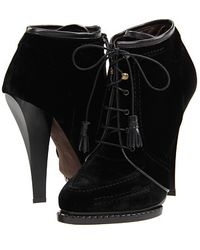 Roberto Cavalli Heel Boots - Lyst