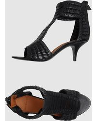 Givenchy High Heeled Sandals - Lyst