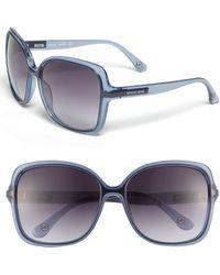 MICHAEL Michael Kors Redonda Square Sunglasses - Lyst