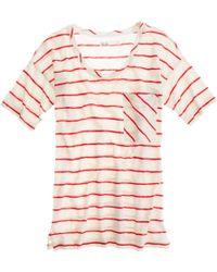 Madewell - Striped Sunray Tee - Lyst