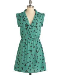 ModCloth You Look Migrate Dress - Lyst