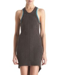 Alexander Wang Knit Tank Dress - Lyst