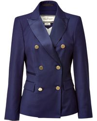 By Malene Birger  Blazer with Gold Buttons - Lyst