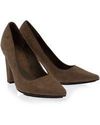 Diane von Furstenberg April Block Heeled Shoes - Lyst