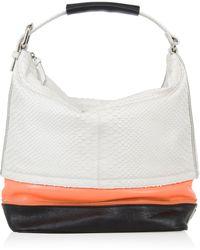 Diane von Furstenberg Mandy Embossed Leather Bag - Lyst
