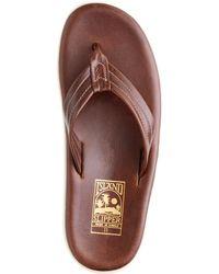 J.Crew Island Slipper® Pt202 Flip-Flops brown - Lyst