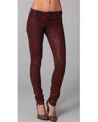 Habitual | Coated Skinny Jeans | Lyst