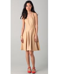 Lyn Devon - Leather Swim Morris Dress - Lyst