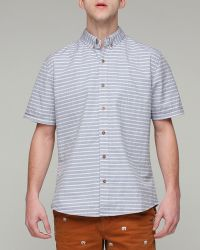 Vanishing Elephant Classic S/s Shirt in Stripes - Lyst