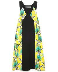 Proenza Schouler V-neck A-line Dress - Lyst