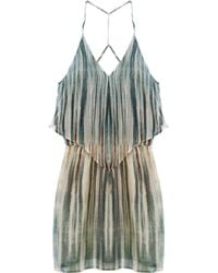 Rory Beca - Rover Twist Back Handkerchief Dress Fire And Ice - Lyst