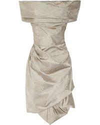 Vivienne Westwood Red Label Corseted Brocade-taffeta Dress - Lyst