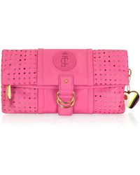 Juicy Couture - Punched Up Poppy Clutch - Lyst