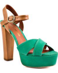 Pour La Victoire Neysa green - Lyst