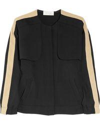 A.L.C. Mitchell Crepe Jacket black - Lyst