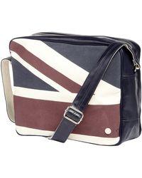 Ben Sherman - Navy Union Jack Shoulder Bag - Lyst