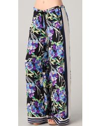 Elizabeth and James - Floral Luxe Pajama Pants - Lyst