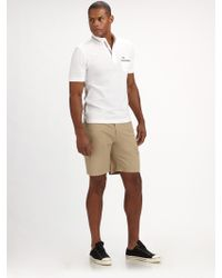 Fred Perry Knit Polo Shirt - Lyst