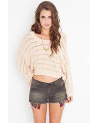 Nasty Gal Baja Cutoff Shorts - Black - Lyst