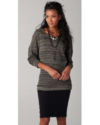 Nightcap - Tunic Sweater with Cowl Back - Lyst