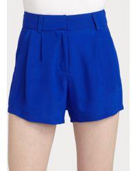 Mara Hoffman Highwaisted Shorts - Lyst