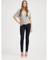 Thvm Vault Lowrise Skinny Jeans - Lyst