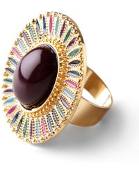 ModCloth - Oval The Top Ring - Lyst