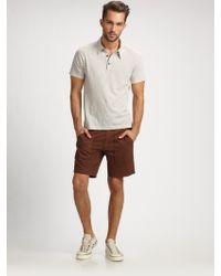 Theory Eskil Polo Shirt - Lyst
