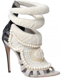 Kanye West By Giuseppe Zanotti 115mm Kanye All Over Beads Sandals - Lyst