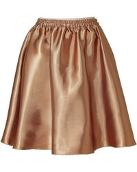 No.21 Bronze Full Skirt - Lyst