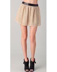 Kelly Wearstler Numa Basket Weave Skirt - Lyst