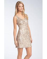 Pisarro Nights Sequin Cocktail Dress - Lyst