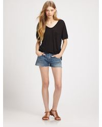 Citizens of Humanity Tangier Cutoff Shorts - Lyst