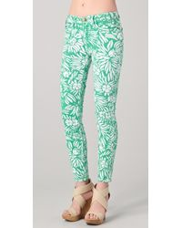 Diane von Furstenberg - Dvf Loves Current Elliott Classic Skinny Jeans - Lyst