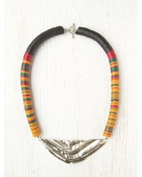 Free People Mikah Tribal Necklace - Lyst