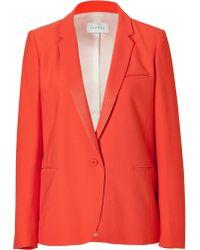 Sandro Tangerine One-button Jacket - Lyst