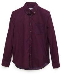 Steven Alan Classic Collegiate L/s Shirt - Lyst